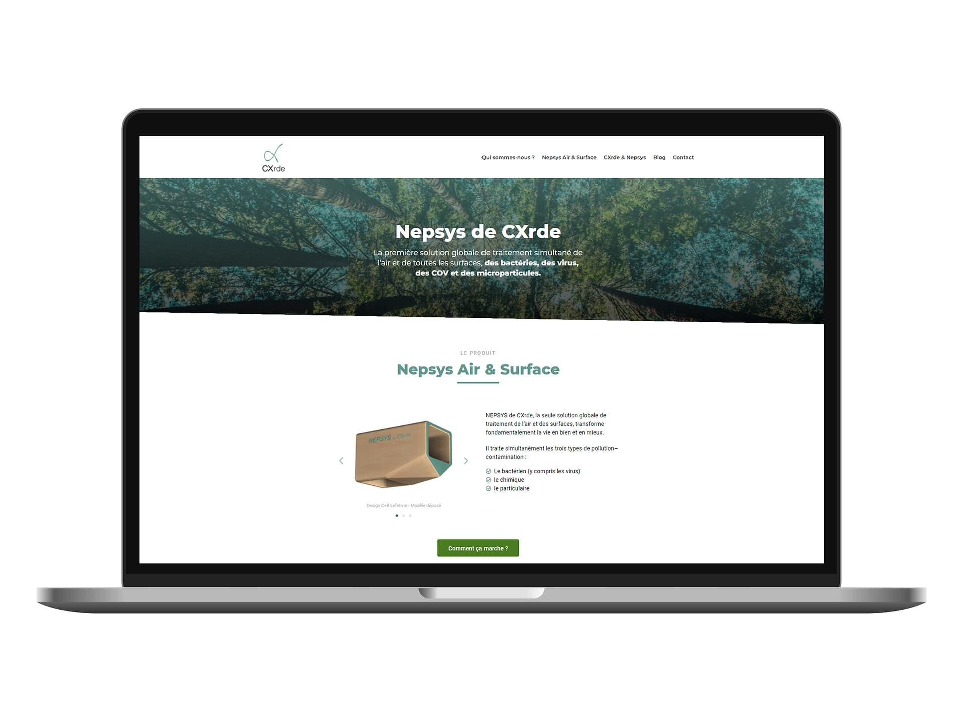 Présentation du site CXrde