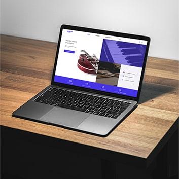 Site web Diapason Music