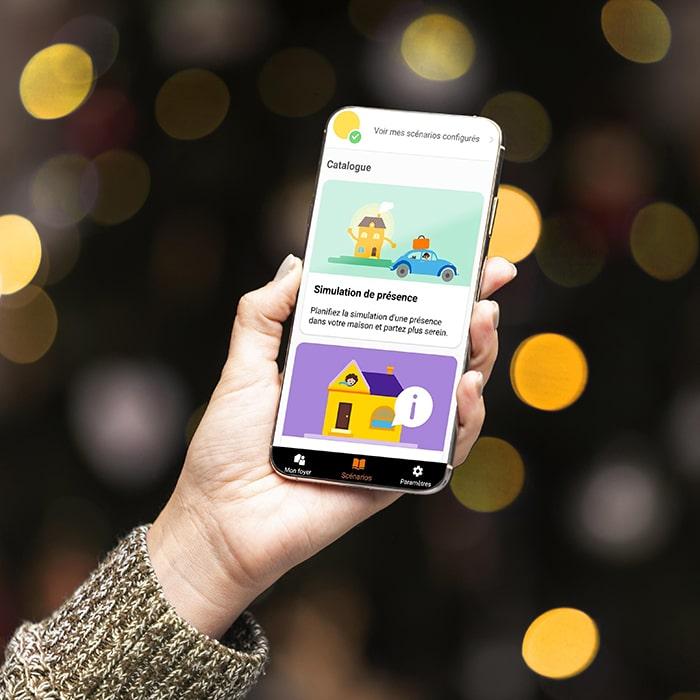 Application mobile Maison connectée